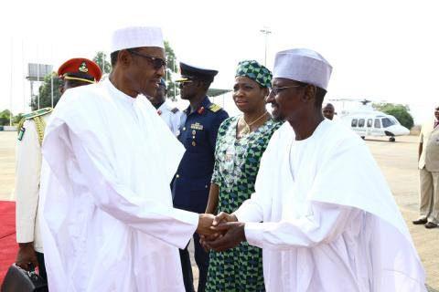 President Buhari departs Nigeria for Egypt