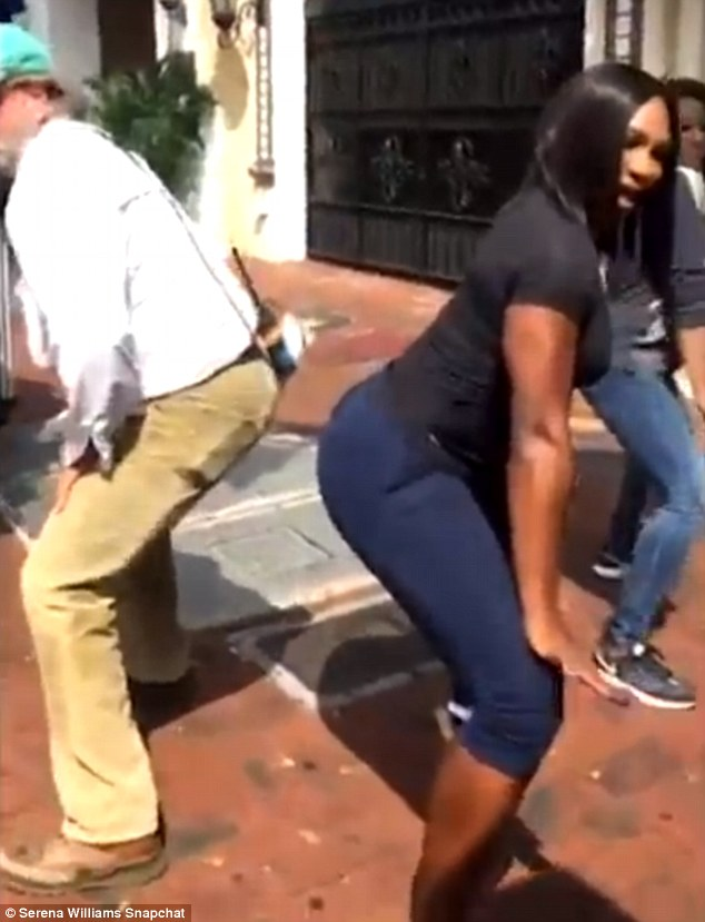 Serena Williams Twerking on the Street of Florida