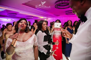 Official Photos from Toolz and Tunde Demuren Whit Wedding at JW Marriott Marquis Hotel in Dubai