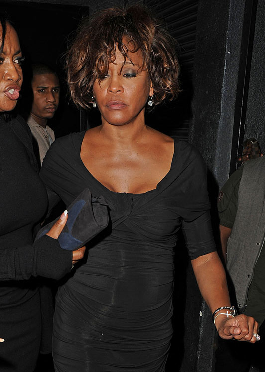 Whitney Houston at a Club weeks Before her Tragic death