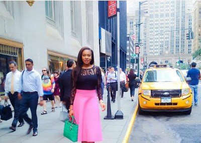Chika  Ike in New York