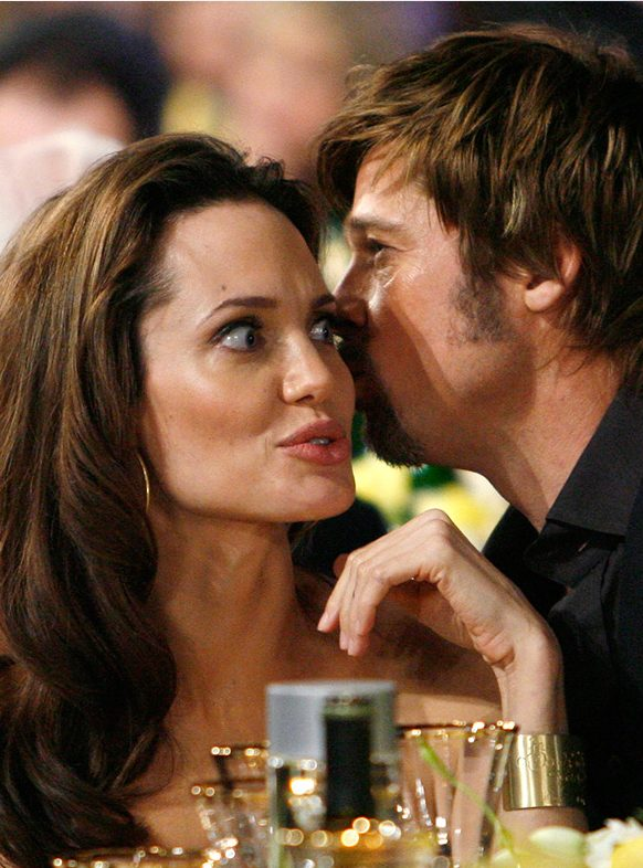 Brad Pitt and Angelina Jolie Are in Good Terms as they began talking to each other Again