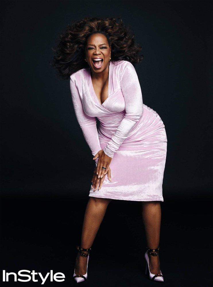 Oprah Winfrey Graces Instyle Magazine March 2018 Issue Creebhills Celebrity News Sports