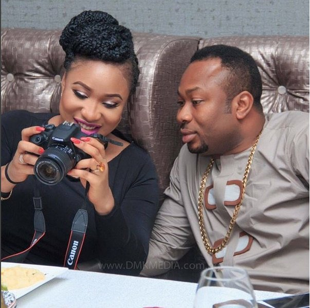 Tonto Dikeh calls Olakunle Churchill a 'one second man in bed