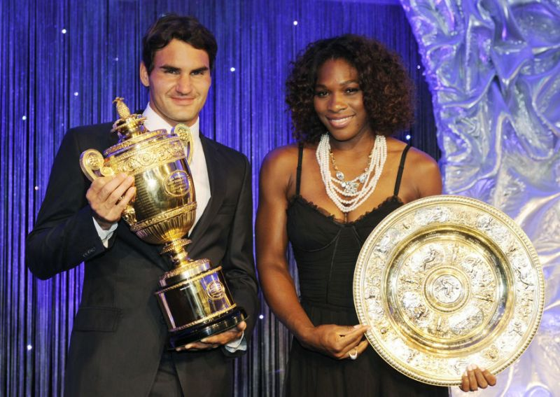 Roger Federer hails Serena Williams , calls her the GOAT