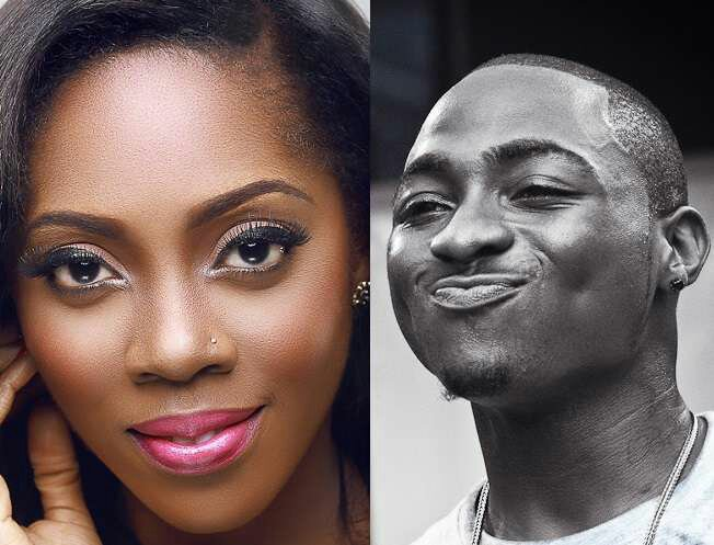 Joke Turns To War! Davido And Tiwa Savage Unfollow Each Other On Instagram