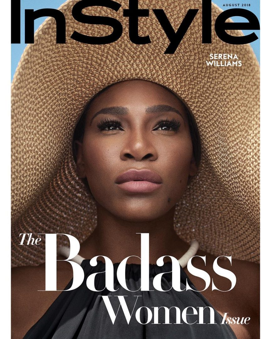 5d6f466711bb8 Serena Williams is Smashing Hot for Instyle magazine New Issue