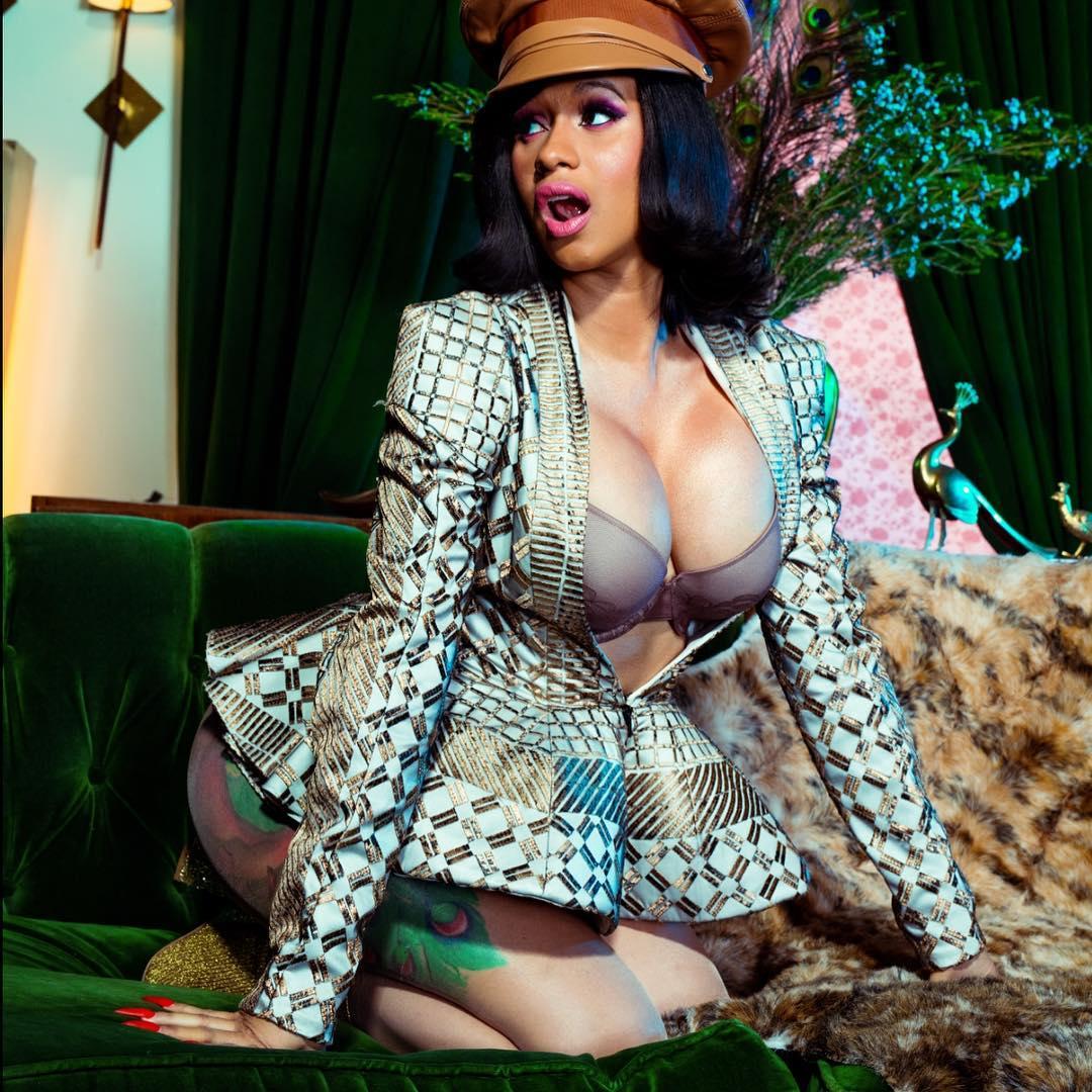 U.S Rapper, Cardi B blasts TMZ over alleged Nicki Minaj diss