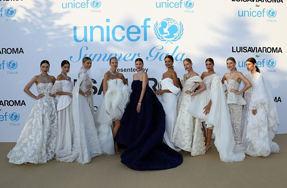 Photos of Heidi Klum, Rita Ora, Stun On The Red Carpet Of The 2018 UNICEF Summer Gala