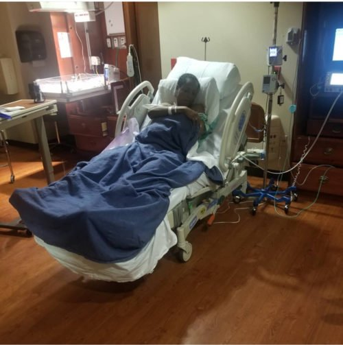 Popular Blogger Linda Ikeji gives birth to baby boy