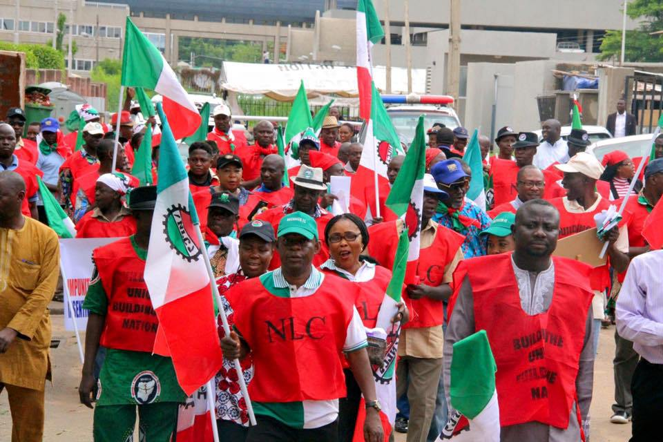 Labour will not sign agreement less than N30,000 – Labour leader