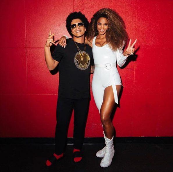 Ciara Replace Cardi B on Bruno Mars 24k magic tour