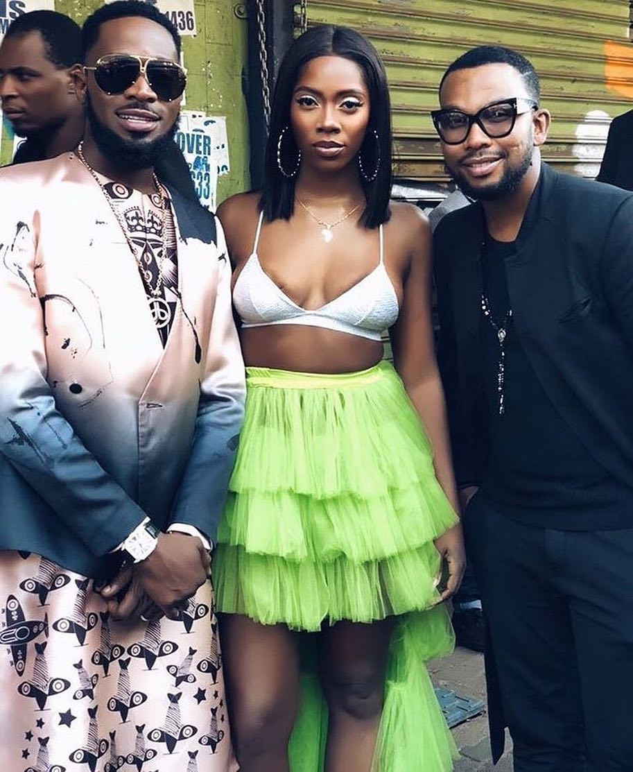 This Photo Of Tiwa Savage and Dbanj Calls For Questions