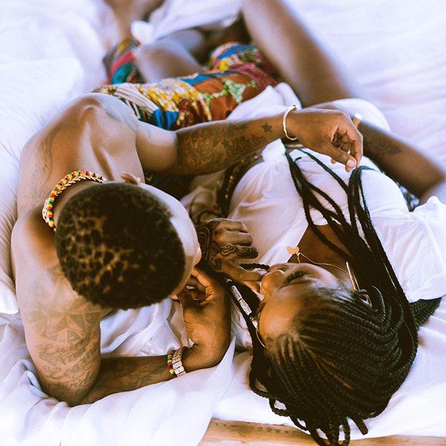 Tiwa Savage finally reveals why she f@cks with Wizkid