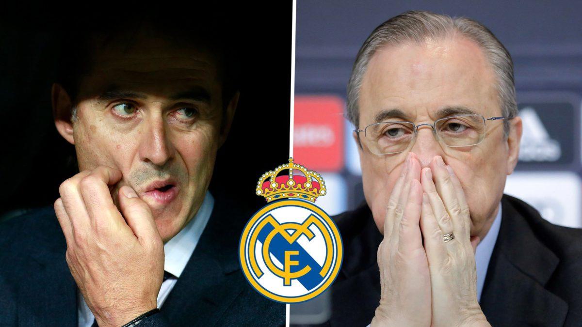 Real Madrid sack Lopetegui