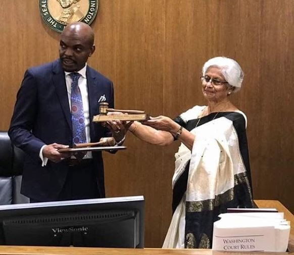 Washington State government appoints a Nigerian as Judge (Photos)