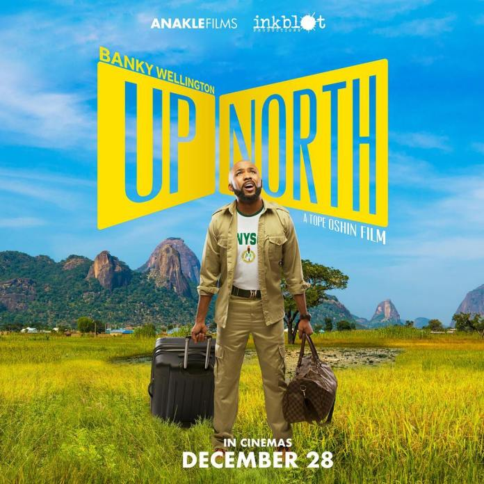 Banky W & Adesua Etomi Reunite in New Film 'Up North' starring Michele Dede, Kanayo O. Kanayo, Rahama Sadau | Teaser