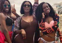 Bbnaija Anto Shares Bikini Photos From Abu-dhabi