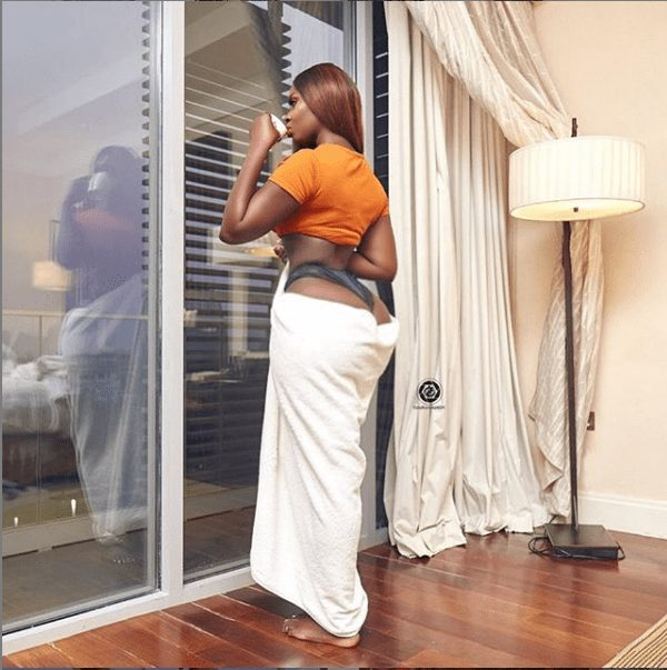 Gambian actress, Princess Shyngle bares her butt in new photo
