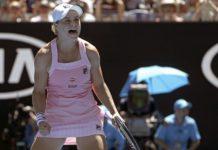Ash Barty Upsets Sharapova 4-6, 6-1, 6-4 to reach Australian Open Quarter Finals