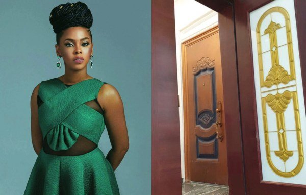 Singer Chidinma Ekile Moves In To Her New House (Photos)