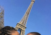 Nollywood Actress ,Stella Damasus And Her Husband Baecation In Paris