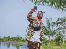 Nigerian Singer ,Kizz Daniel Rocks Army Camouflage