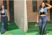 """Dem Go Drink Poison for my Sake die one day"", Angela Okorie curses troll whom said her breast as fallen"