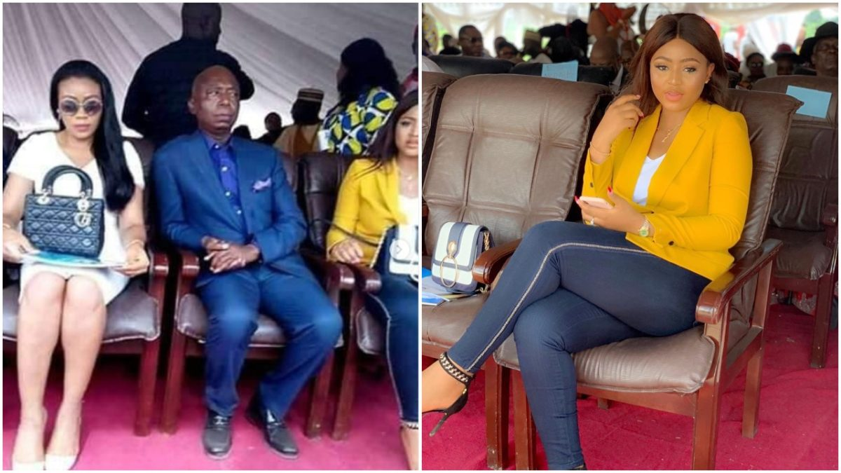 Regina Daniels and Billionaire husband Ned Nwoko, make their first public appearance