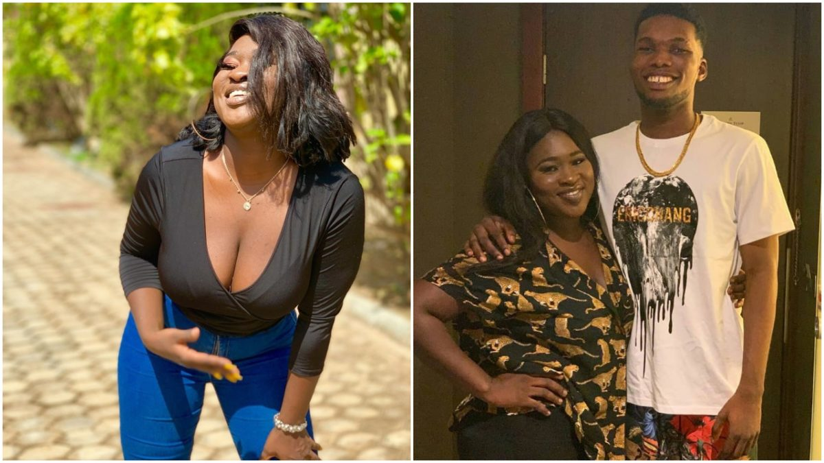 Sista Afia pictured with Nigerian Singer Victor AD