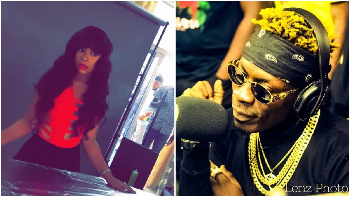 Shatta Wale's Ex-Girlfriend Shatta Michy betrays him as she jams to Stonebwoy's 'Shuga' song
