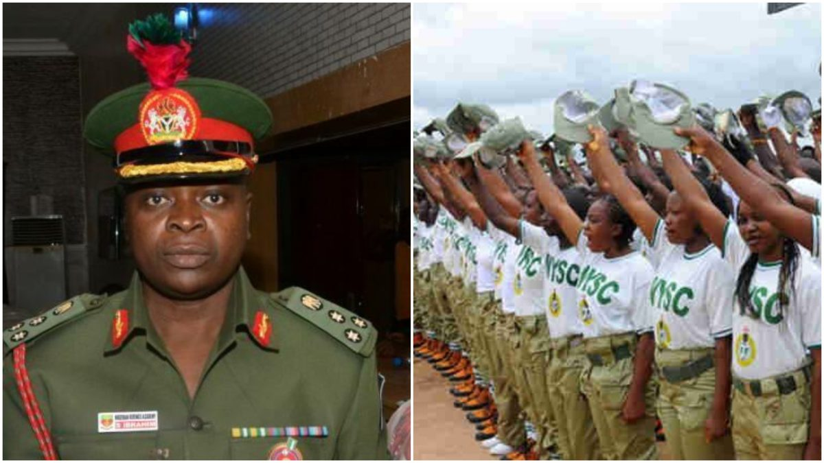 NYSC Director General/Corps Members on Parade. Photo: Punch