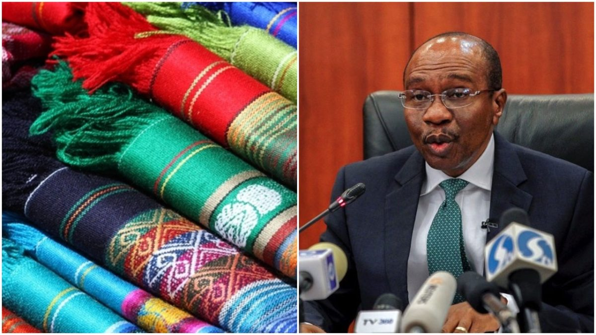 Over 130 textile industries in Nigeria have collapsed – CBN governor Godwin Emefiele