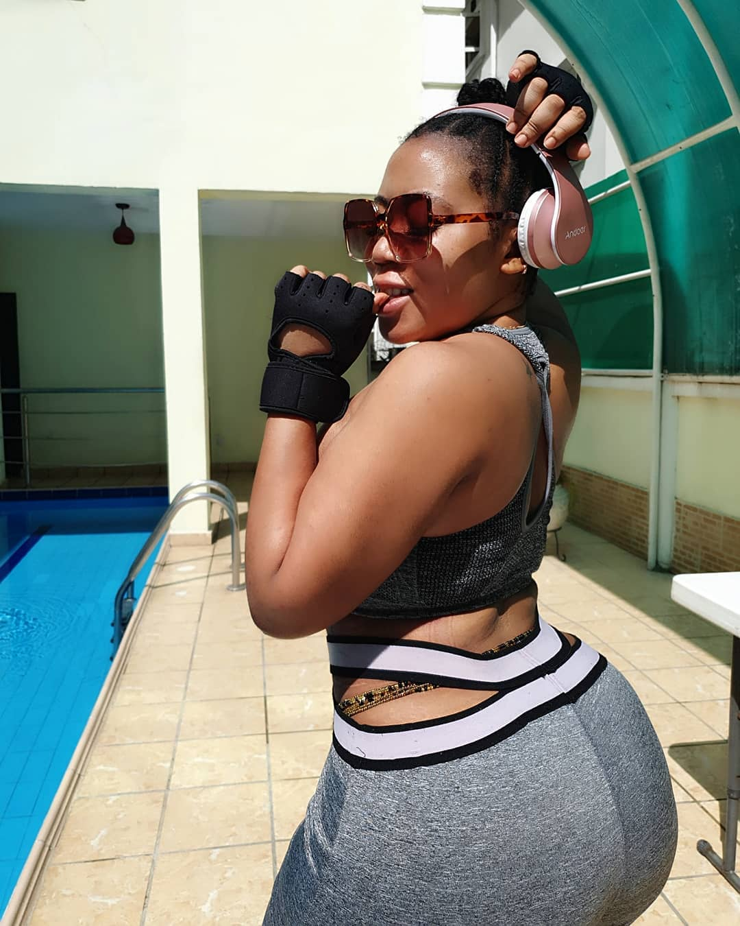 Actress Moyo Lawal Slays In Sultry Workout Photos