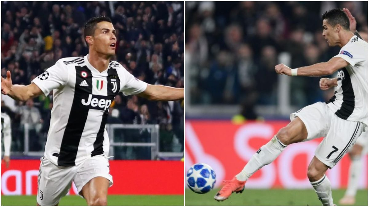 Image result for Cristiano Ronaldo Goal of Champions League Man United 2019