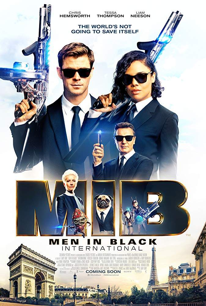 DOWNLOAD MOVIE: Men in Black: International (2019) [HC-HDRip]