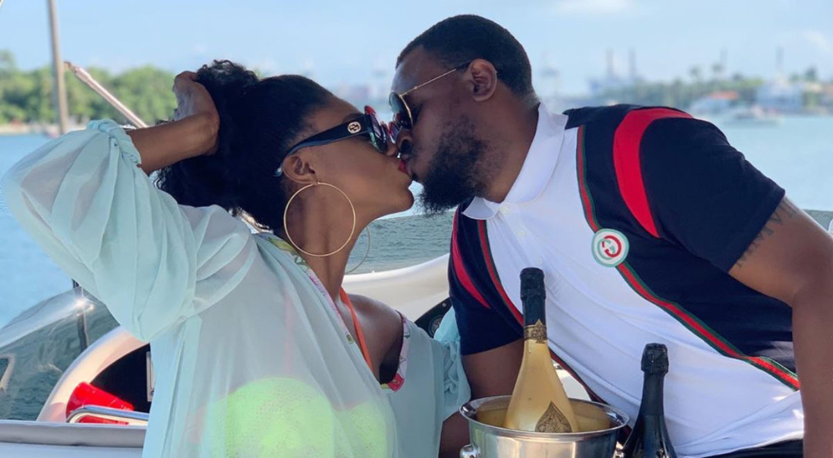 Becca And Husband Commemorate First Marriage Anniversary