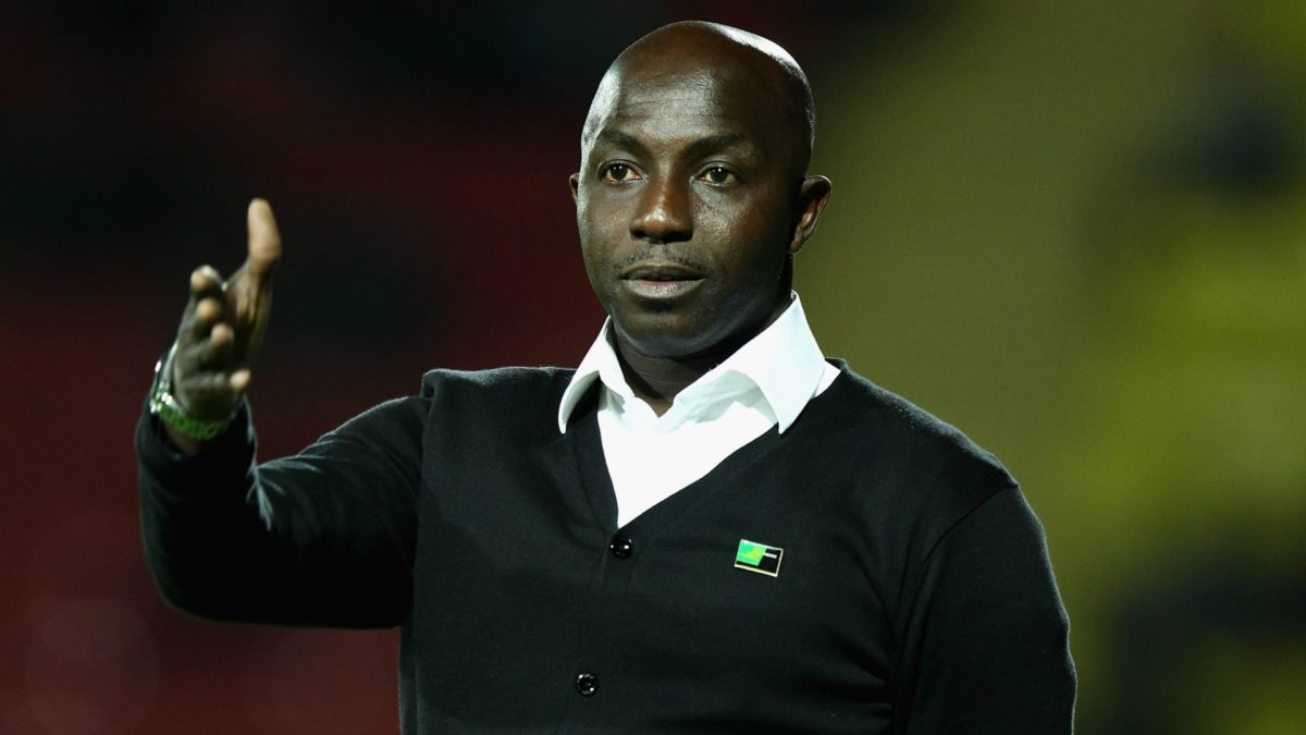 Former Super Eagles Coach, Samson Siasia, banned for life!