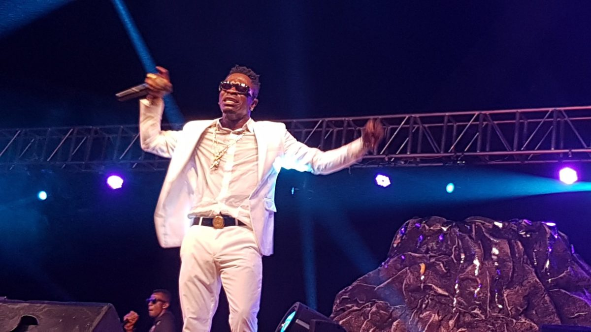 INCREDIBLE: Shatta Wale performs till 7 in the morning