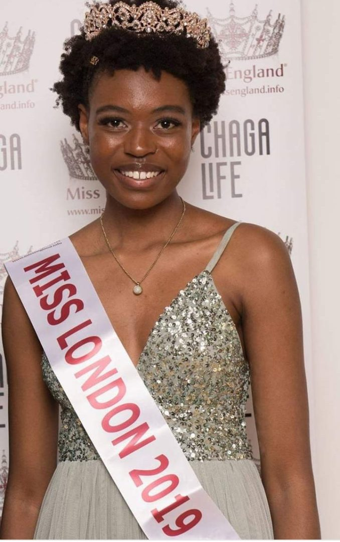 Zimbabwean Lady becomes first Black Miss London