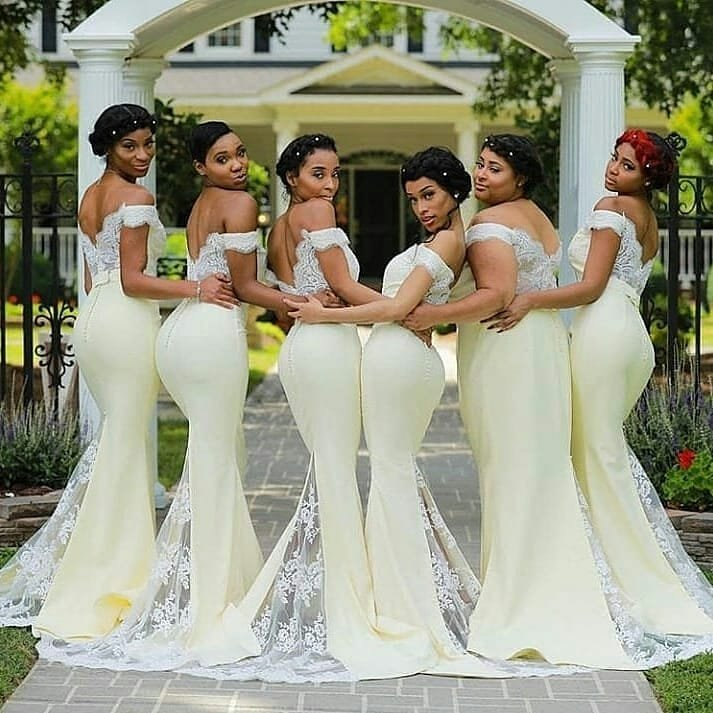 Pepper Dem Styles!!! Beautiful Bridesmaids Dress Ideas