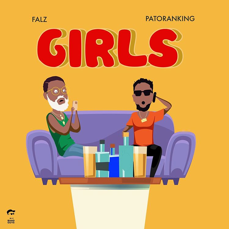Falz Drops New Hit Single With Patoranking Titled Girls (Download)