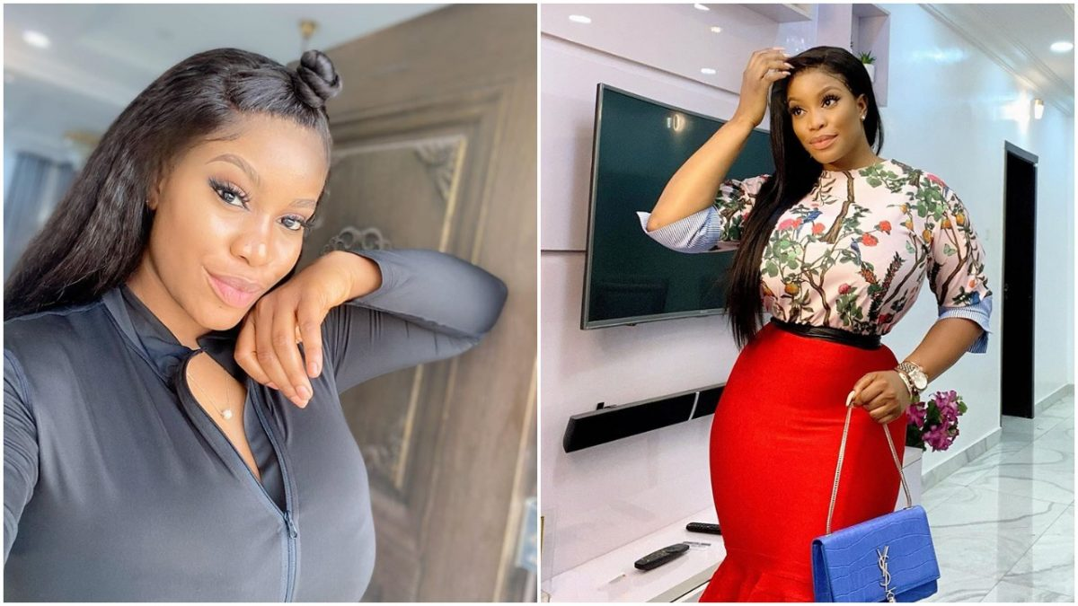 Actress Ese Eriata dish out fashion goals in flowery outfit