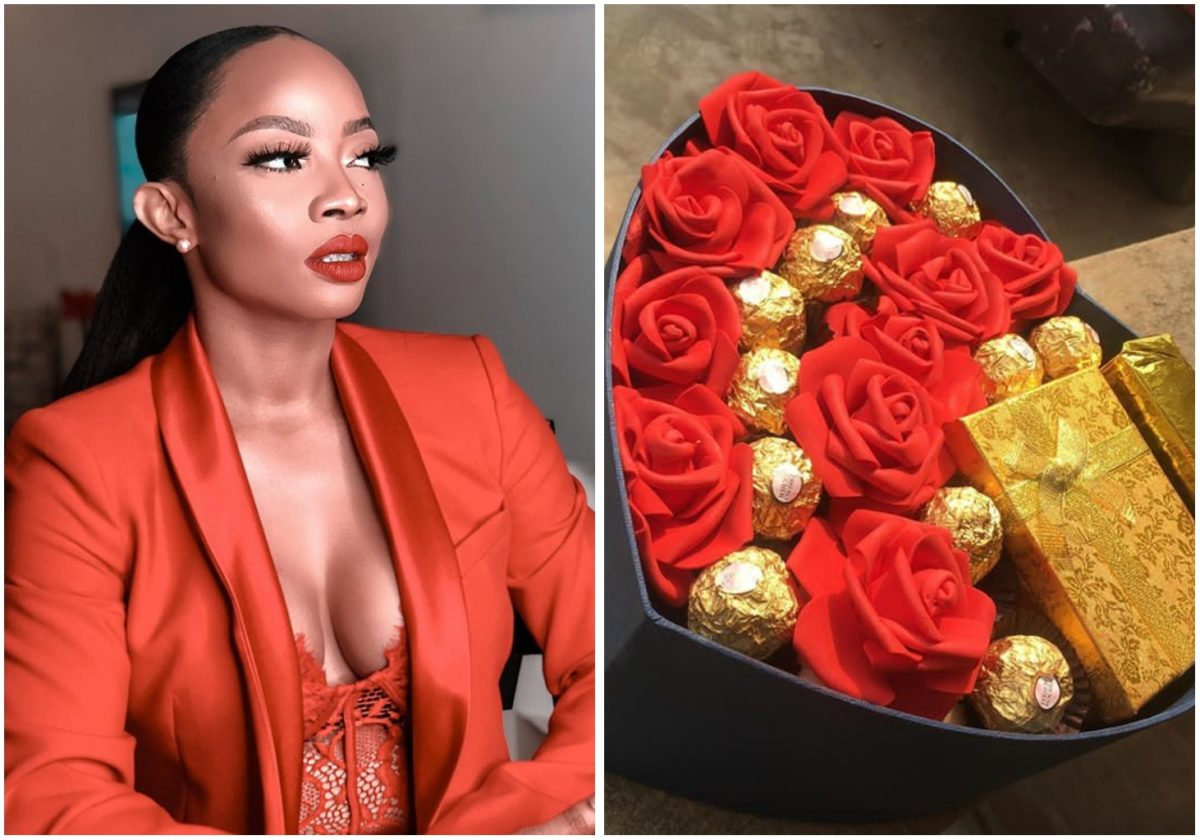 """""""Don't let pressure get to you, a love will find you"""" – Toke Makinwa advise single fans"""