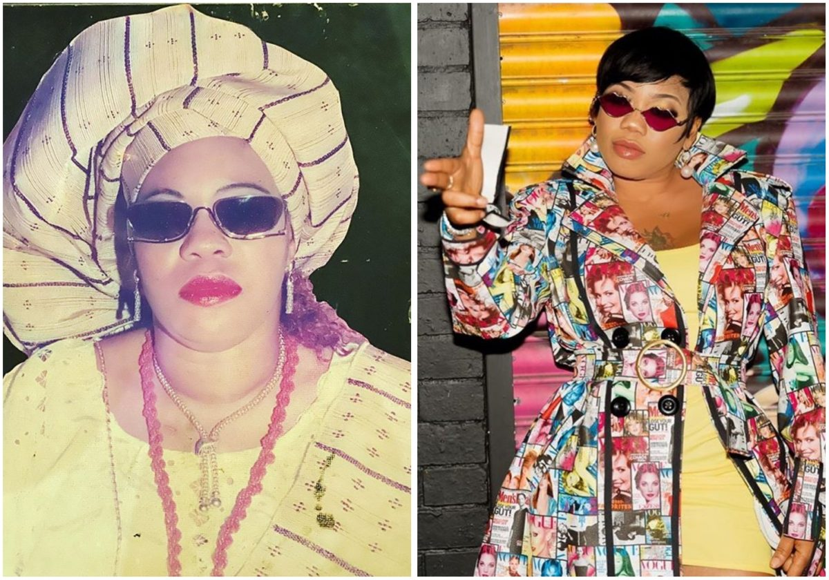 """""""My mum is the real Fashion Goddess"""" – Toyin Lawani gushes about her late mum"""
