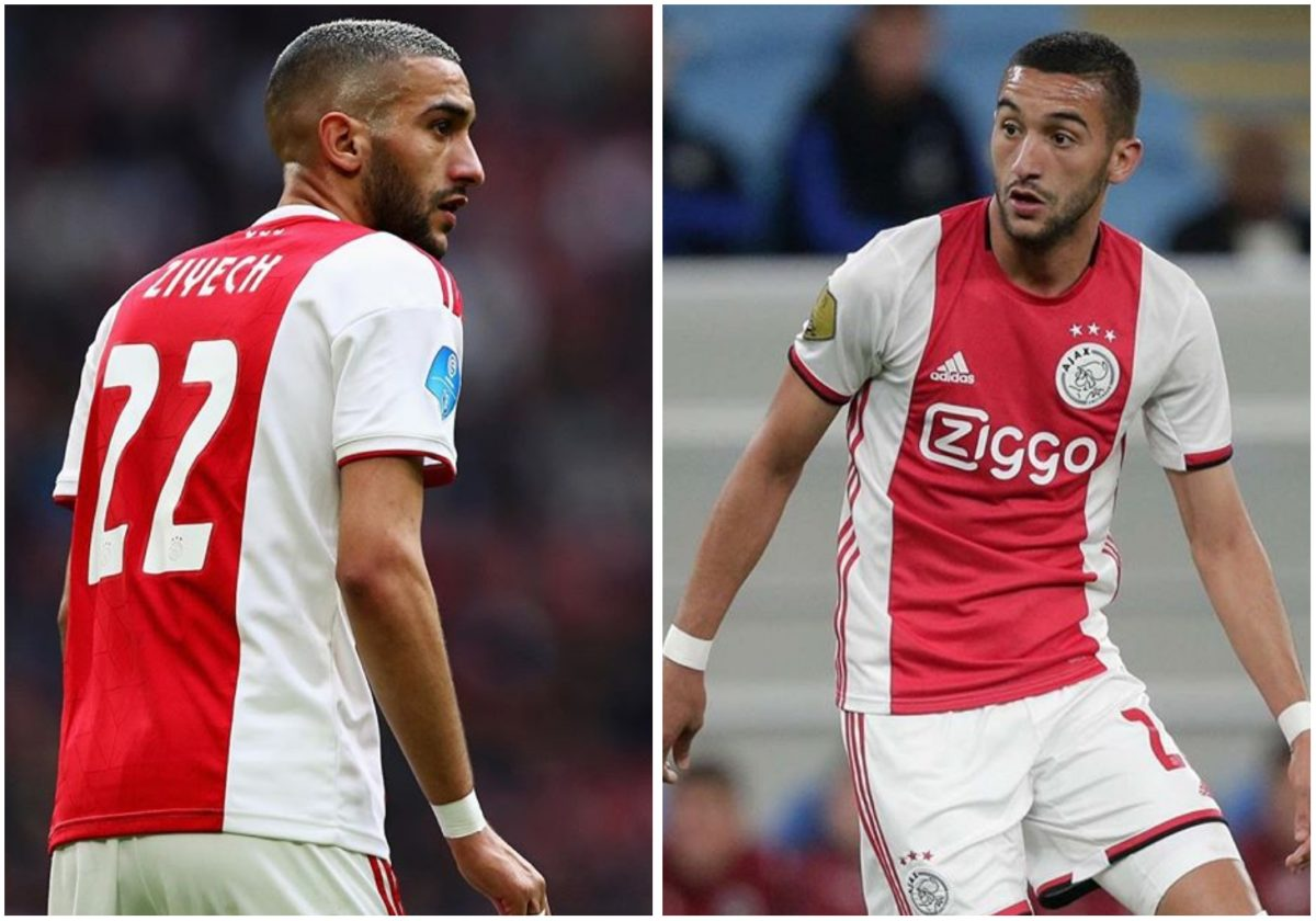 Chelsea confirm five-year deal for Ajax's Hakim Ziyech