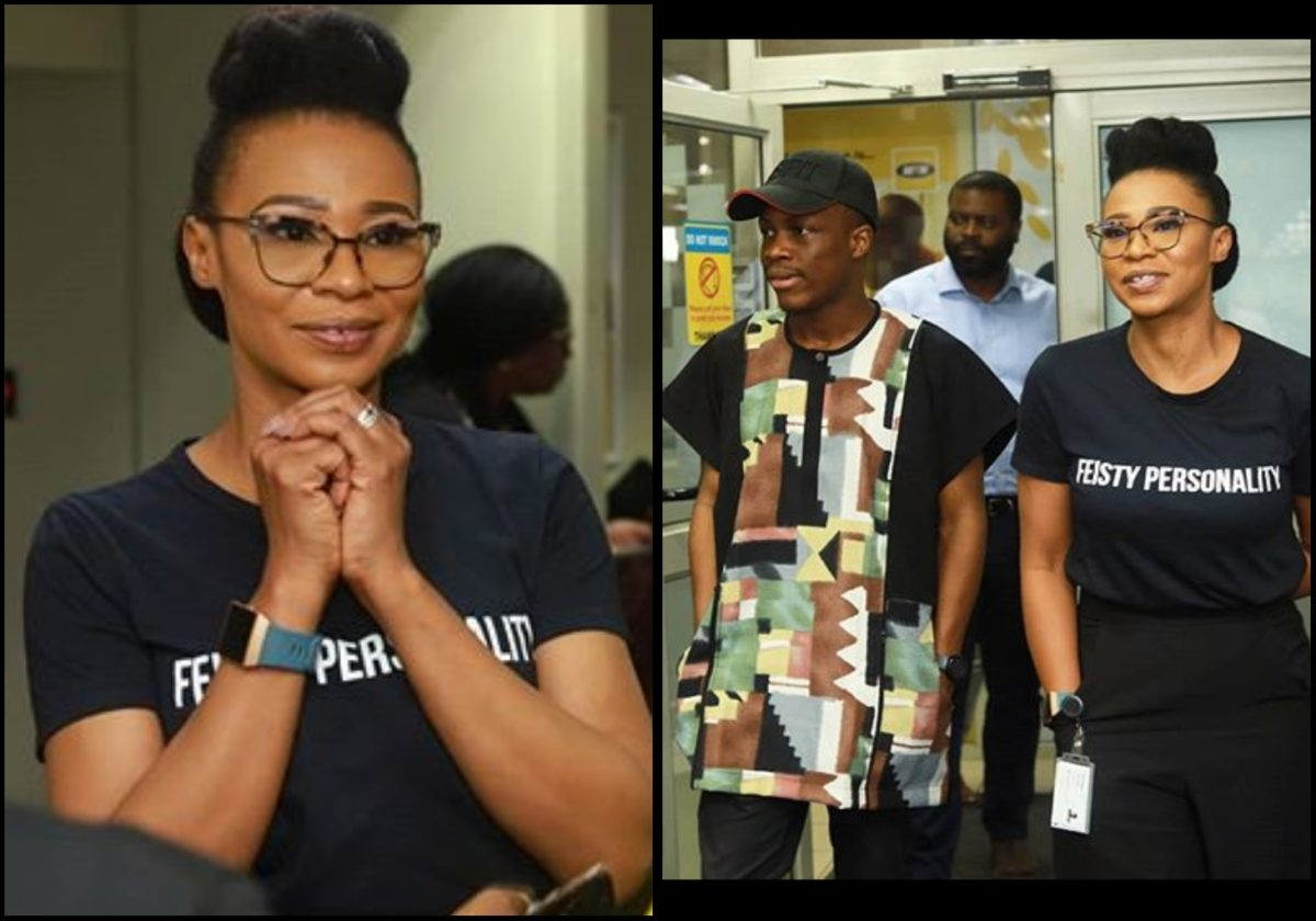 Actress Nse Ikpe Etim pays Mtn Foundation a courtesy visit (Photos)