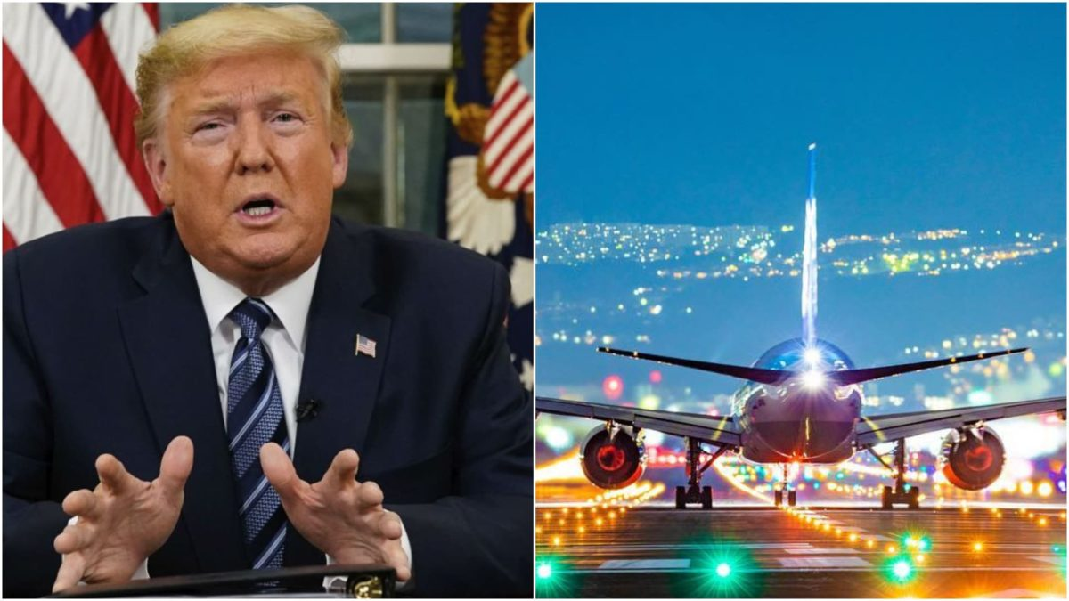 US President suspends all entry from Europe into United States over Coronavirus
