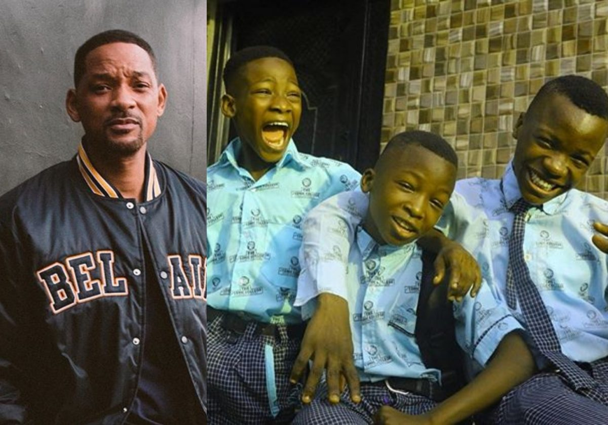 Ninalowo excited as comedians Ikorodu Boiz gets recognition from Will Smith (Photo)