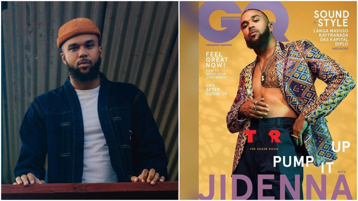 Nigerian born music artiste Jidenna makes Cover of GQ South Africa scaled